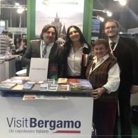 Vini bergamaschi e i prodotti tipici lombardi alla Bit di Milano.