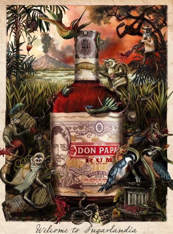 sugarlandia, bottiglia di Rum Don Papa