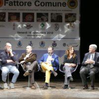 talk show 2017 Fattore Comune: eccellenze del territorio