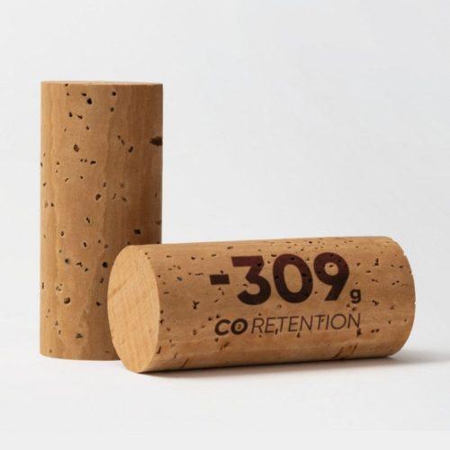 tappo amorim assorbe 309 grammi di co2