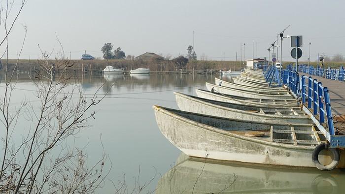 territorio delta del Po veneto