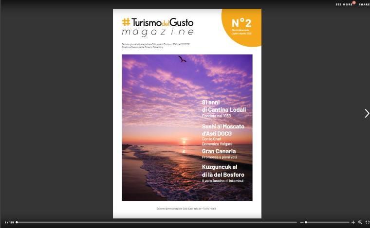 Turismo del gusto magazine su Issuu - numero 2, luglio 2020