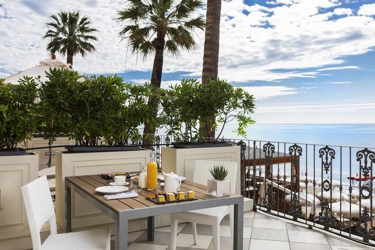 colazione in camera, terrazza fronte mare, Alassio