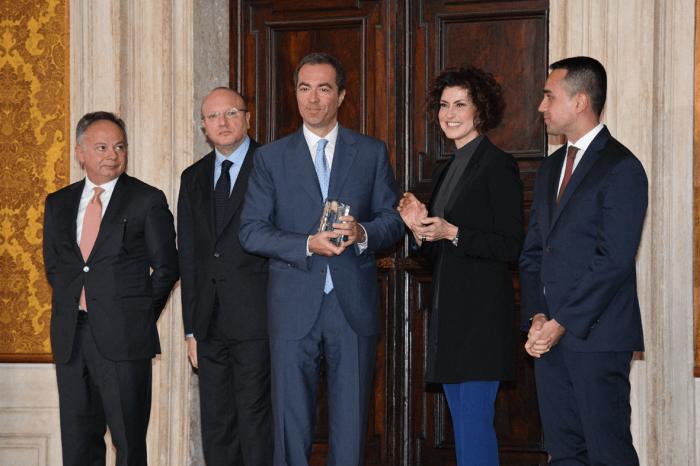 Venchi Premio Leonardo Qualità Italia 2018