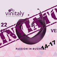 Veronafiere ha deciso di riposizionare Vinitaly dal 14 al 17 giugno 2020