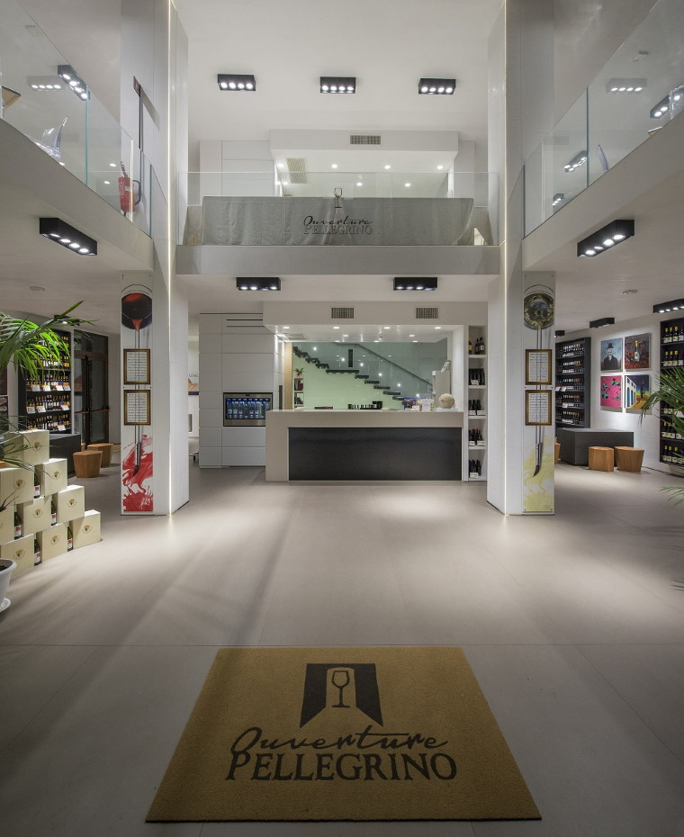 wine shop pellegrino a Marsala